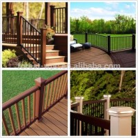 Wood Fiber Railing Decorative Balcony Fence Fence And