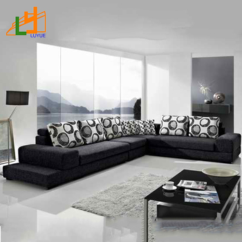 high quality fabric sectional sofa air bed best latest new design modern set home furniture 2018 ...