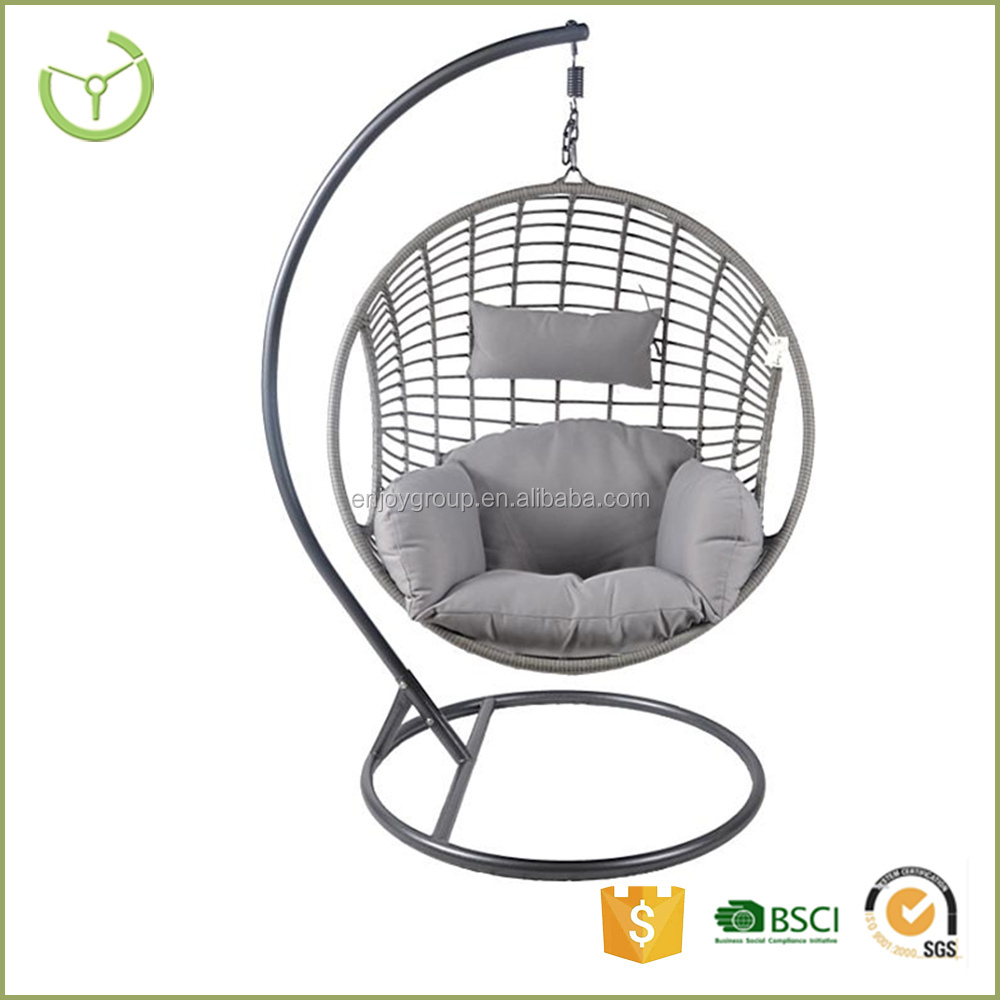 Swing Egg Stoel.Ei Stoel Us 6 64 5 Off Mini Ei Stoel Fauteuil Rugleuning Swivel