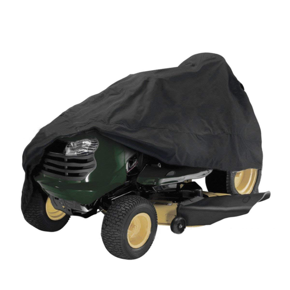 hight resolution of get quotations 54inch tractor cover garden yard riding mower lawn tractor cover protection black
