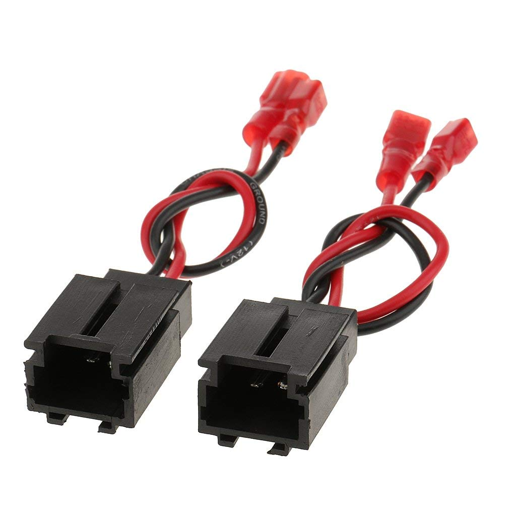 hight resolution of get quotations monkeyjack 2 pieces speaker wiring harness adaptor connector pc2 821 for peugeot 206 citroen