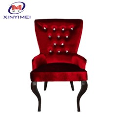 Alibaba Royal Chairs Leather Safari Chair Quality Promise Europe Style Furniture Red And Black Antique Single Sofa