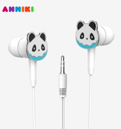 custom design 3d cartoon wired 3 5 mm in ear earphone stereo earbuds for apple samsung android tablet mp3 [ 1000 x 1000 Pixel ]