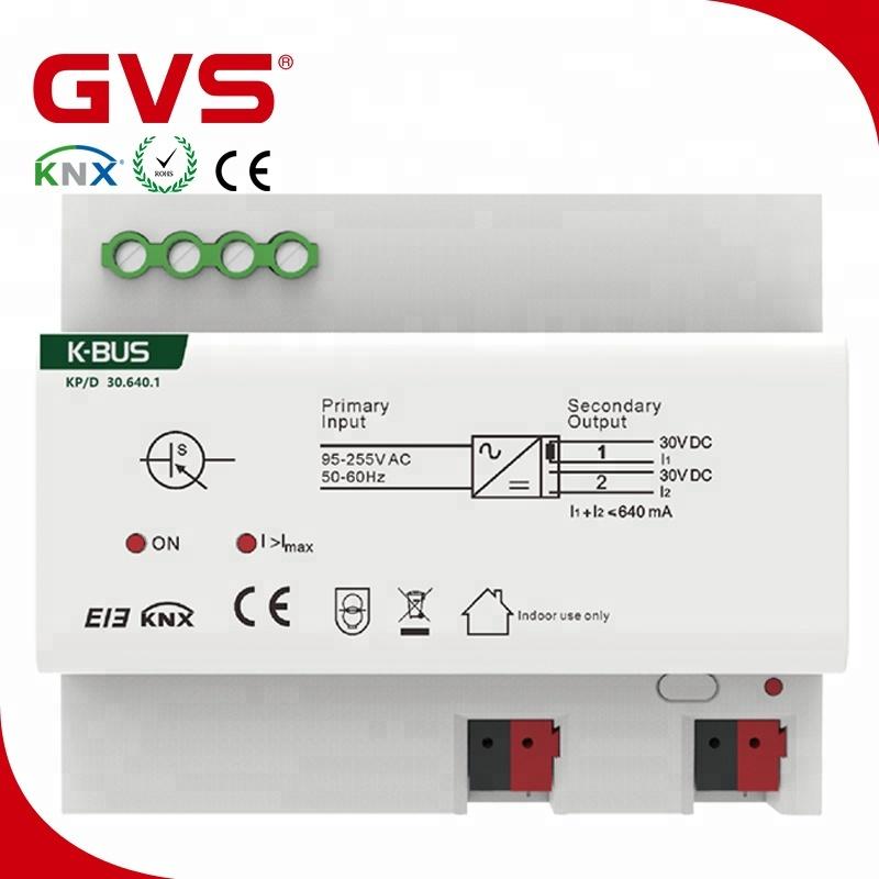 KNX 640mA alimentation KNX/EIB Chine GVS K-bus maison intelligente fabricant KNX Alimentation 640mA dans international standard--ID de produit ...