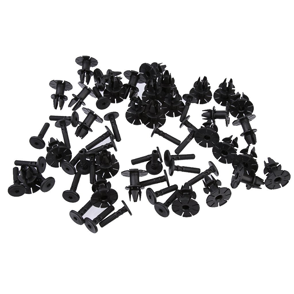 Buy 10 x Plastic Exterior Side Sill Skirt Trim Clips for