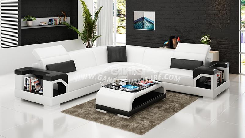 Italy Genuine Leather Sofa Designs Modern Furniture Sofa Set