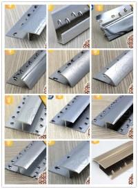 Polished Carpet Gripper Aluminum Carpet Edge Trim For ...