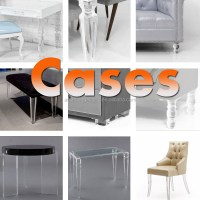 Lucite Furniture Legs_transparent Clear Acrylic Lucite ...