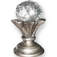 Crystal Finials For Curtain Rods