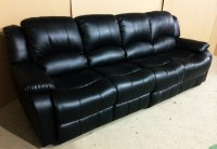 4 Seat Leather Reclining Sofa Leather Reclining Sofa From ...