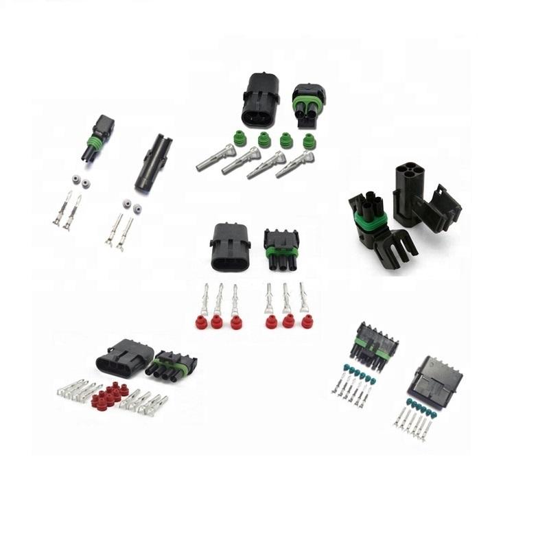 1 2 3 4 5 6 Pin Way Delphi Automobile Wire Harness