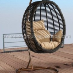 Egg Chair Swing Silver Crushed Velvet Dining Covers Patio Buy Rattan Outdoor Product On Alibaba Com