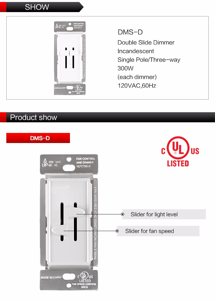 Wall Switch With Indicator Light Dimmer