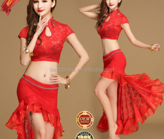 Bestdance New Belly Dance Sexy Lace Top Shirt Skirt Outfit Set Dancer Practice Costumes Clothing Oem Buy Belly Dance Practice Costumesbelly Dance Sexy
