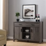 Buy Smart Home Modern Buffet Fine Dining Serving Table Stand Furniture Distress Gray In Cheap Price On Alibaba Com