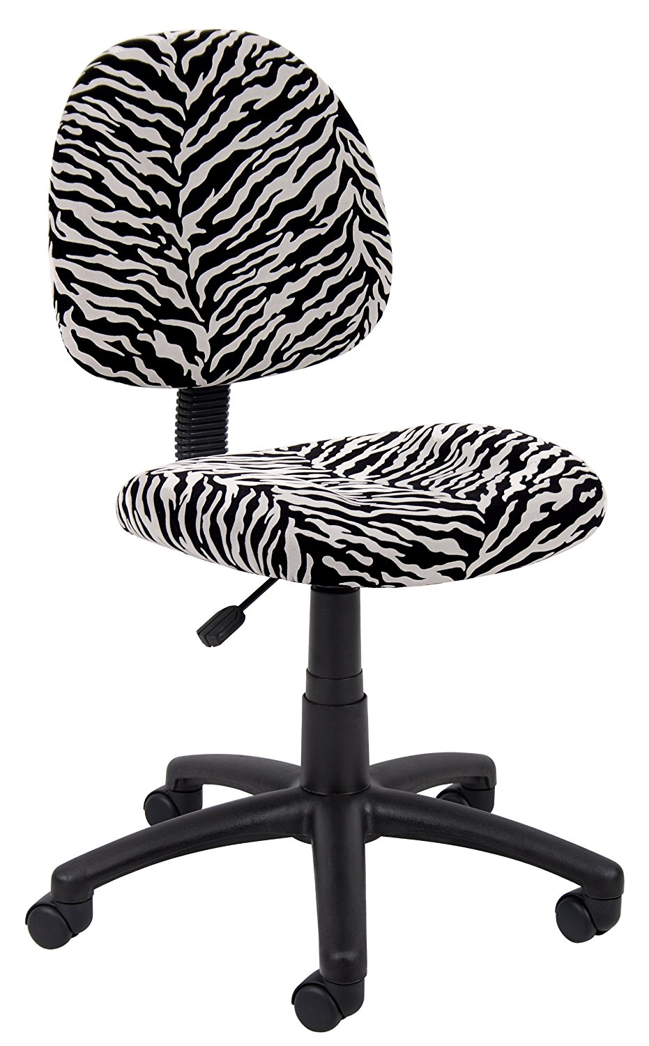posture deluxe chair barber o que significa cheap office find deals on line get quotations boss zebra print microfiber by products
