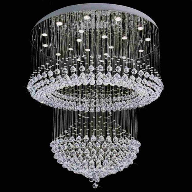 Crystal Ball Chandelier High Quality Fancy Light Silver Pendant Light92007