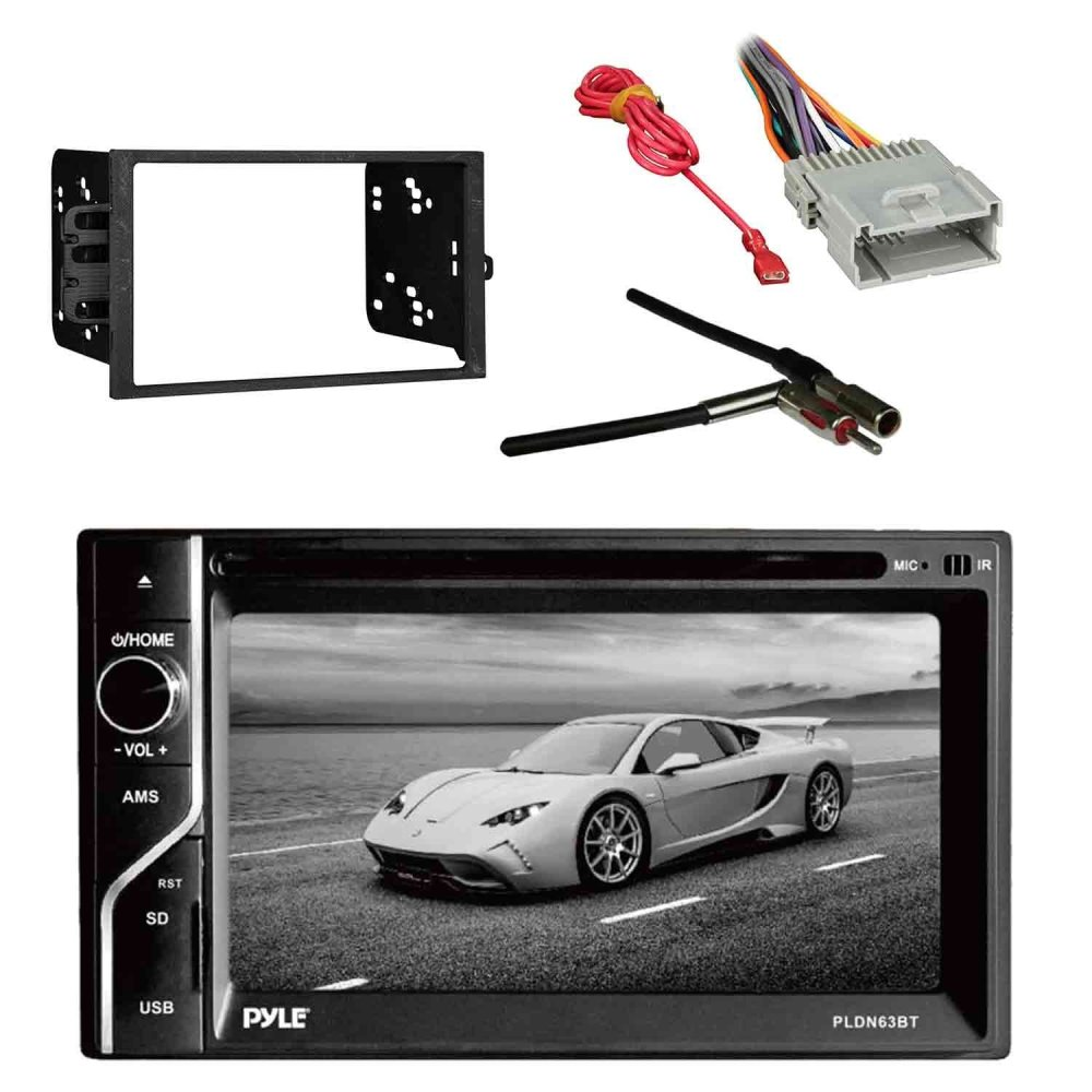 medium resolution of get quotations pyle pldn63bt 6 5 2 din in dash touch screen bt receiver with