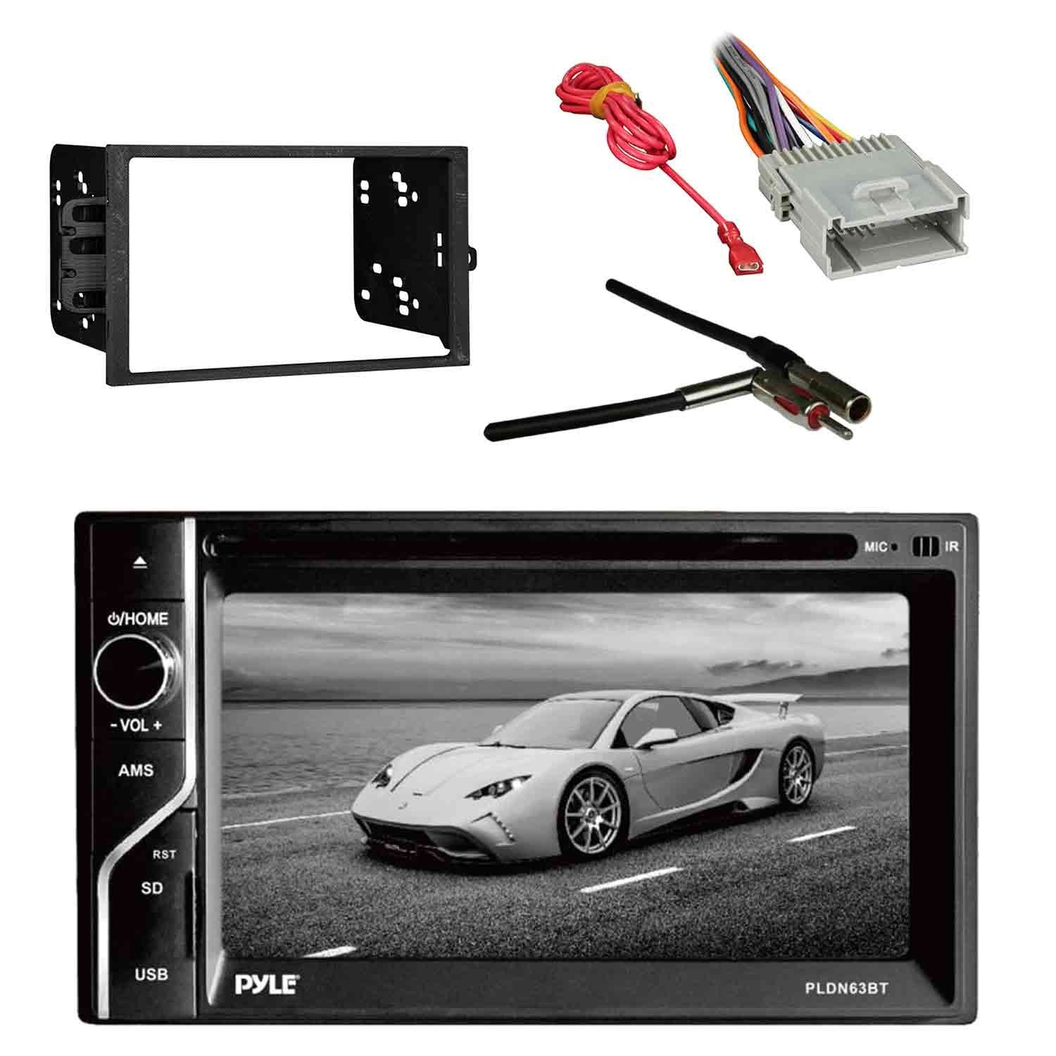 hight resolution of get quotations pyle pldn63bt 6 5 2 din in dash touch screen bt receiver with