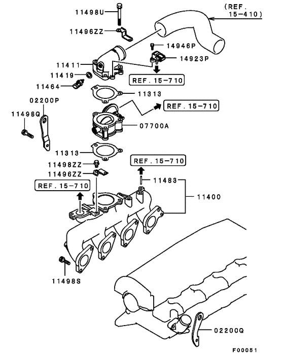Air Pressure Map Sensor For Mitsubishi Pajero Sport Pickup