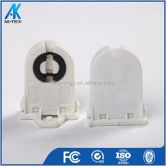 Fluorescent Light Holder Wiring Diagram Ecu Hyundai Accent T8 Tube Starter T5 Socket Base For Lamp