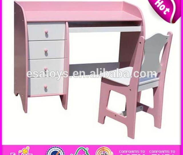 Wooden Student Table And Chair For Kidswooden Toy Study School Table And Chair