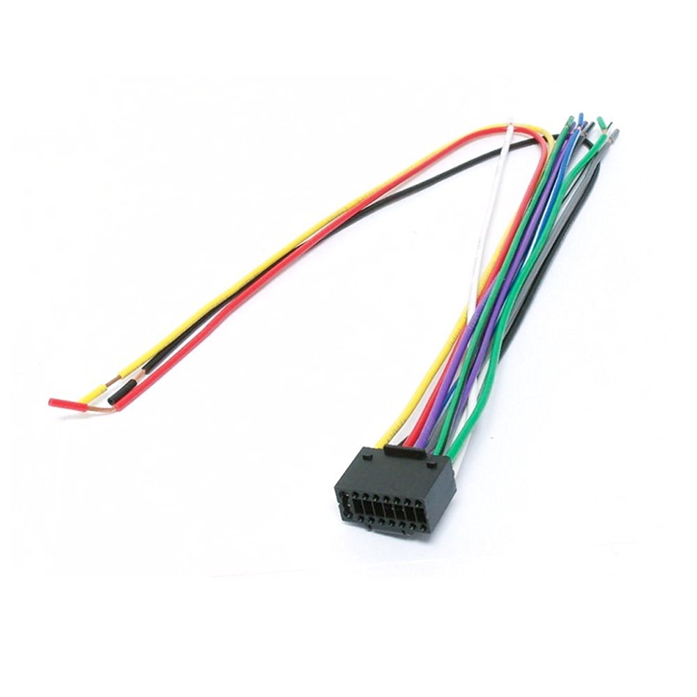 hight resolution of get quotations kenwood car stereo radio cd player receiver universal wiring harness