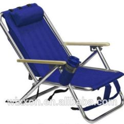 Costco Beach Chairs Hanging Chair Stand Diy Wooden Armrests Shoulder Straps Folding Backpack Wheels - Buy ...