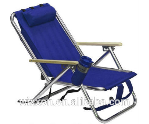 kitchen chairs with casters wrought iron sets wooden armrests shoulder straps folding backpack beach ...
