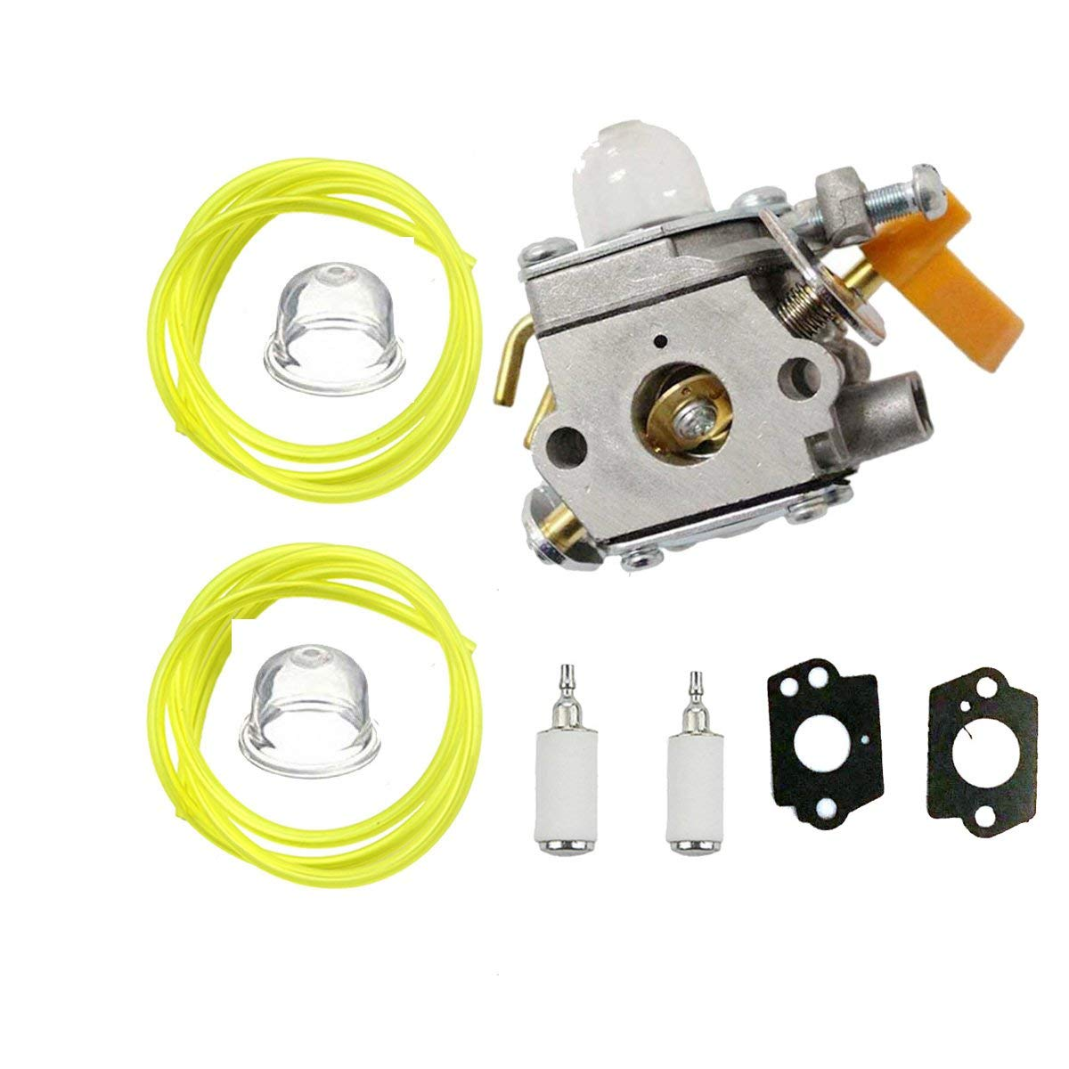 hight resolution of outgoings 308054034 308054014 308054028 carburetor with adjustment tool fuel line turn up kit for zama c1u h60d