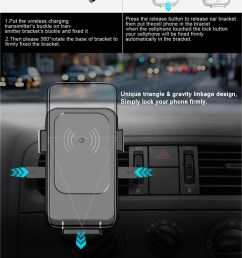 15w qi car charger cup magnet car phone holder wireless mobile charger circuit diagram [ 750 x 1846 Pixel ]