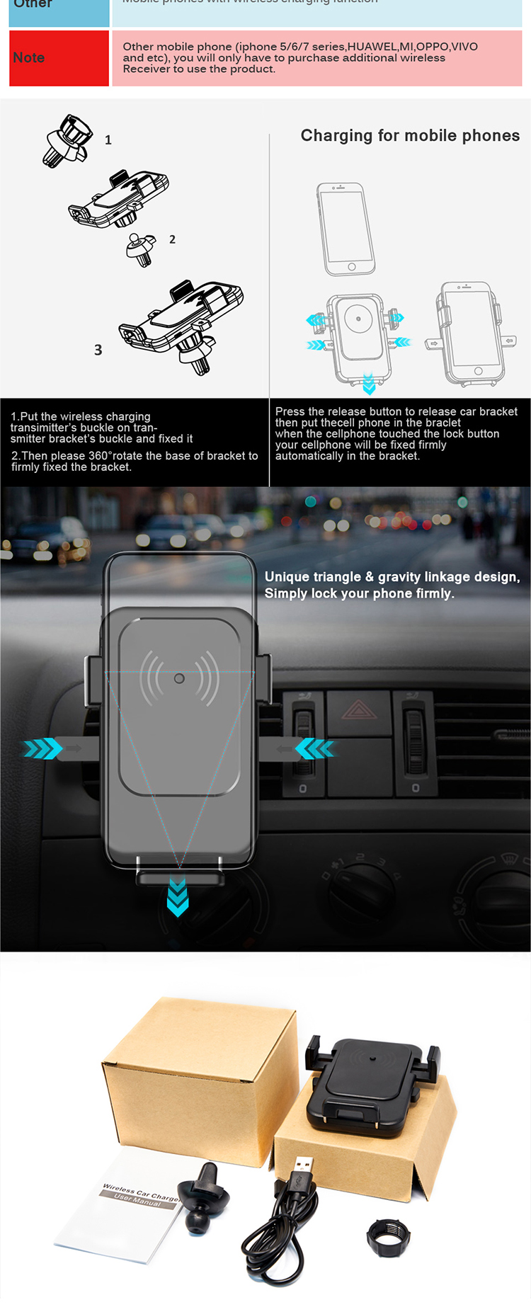 hight resolution of 15w qi car charger cup magnet car phone holder wireless mobile charger circuit diagram