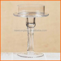 Best Sale Cheap Tall Stemmed Glass Candle Holders - Buy ...