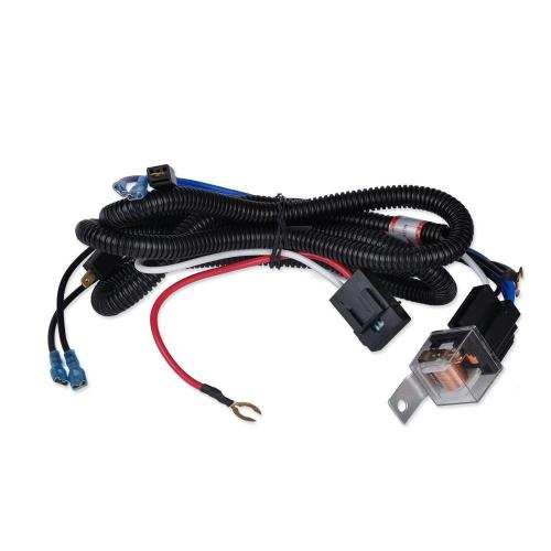 small resolution of car parts car relay harness 12v 40a 4 pin harness socket with color labeled wires for