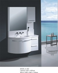 New Design Modern Bathroom Cabinet With Mirror - Buy ...