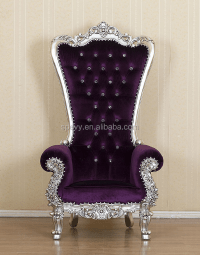 Spevy Purple Spa Pedicure Chair With Round White Ceramic