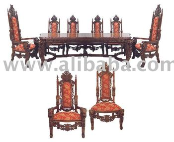 king furniture dining chairs seat cushions for lion table and throne buy