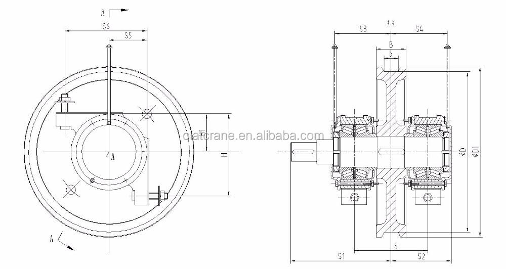 3d Design Drawing Customizable Industrial Steel Crane