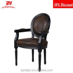 Ghost Chair Replica Small Rv Recliner Louis Style Dining Arm Antique French Solid Hot Sale Hotel
