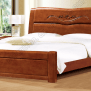 Latest Design Rubber Wood Double Bed Buy Latest Wooden