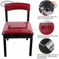 Chair Covers Waterproof Dental Operator E822 Clear Pvc Dining Removable Protector Plastic Cushion