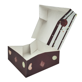Eco Friendly Custom Printed Bakery Boxes Offset Printing View Cake