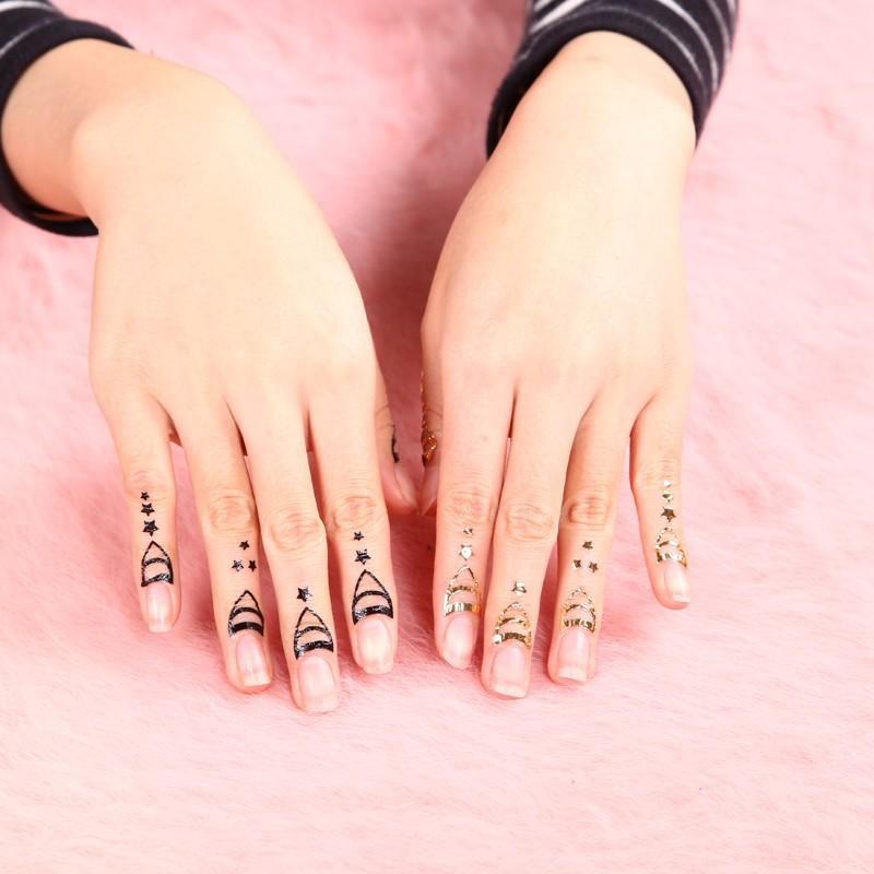 2017 Nail Art Designs New Cuticle Tattoo Tattoos On Alibaba