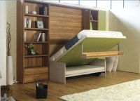 Modern Space Saving Furniture Foldable Bed Hidden Wall Bed