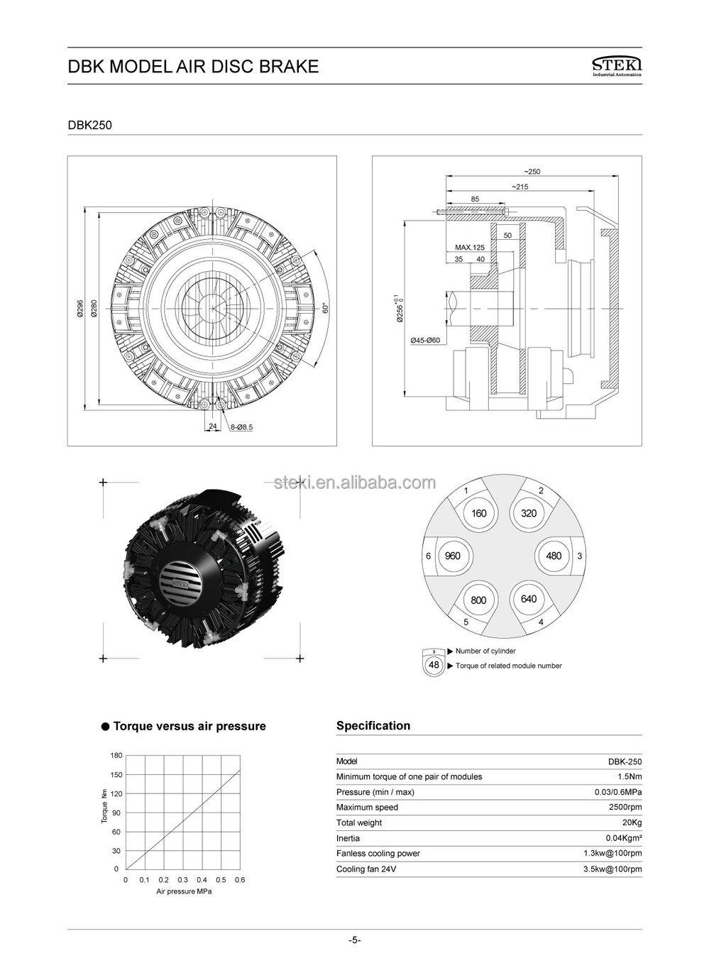 Steki 2019 Air Brake Chamber Diaphragm And The Model Of
