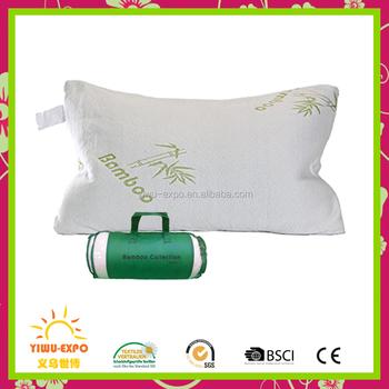Wholesale Golden Bamboo Pillow Bamboo Memory Foam Pillow