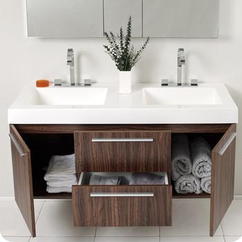 en bois salle de bain vanite ensemble idees 48 pouces salle de bain vanite avec dessus