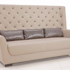 Leather Living Room Furniture Sets Wood Blinds Alime Modern Restaurant Sofa Bench Seat - Buy ...