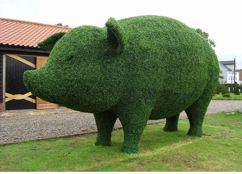 herbe verte artificielle topiaire de buis en plastique forme animale buis fait main herbe topiaire animal pas cher prix buy buis artificiel topiaire