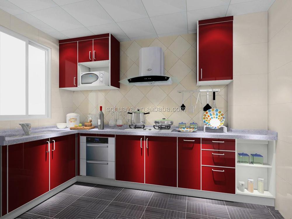 2014 Newest Aluminium Kitchen Cabinet Model/high Gloss